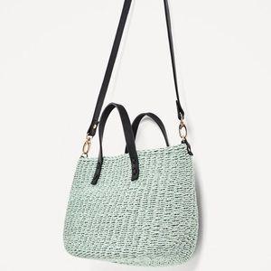 Zara Braided Mini Tote Bag